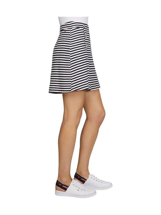 Tommy Hilfiger - Beehive Jersey Small Stripe -hame - 03O WHITE/DESERT SKY STP | Stockmann - photo 4