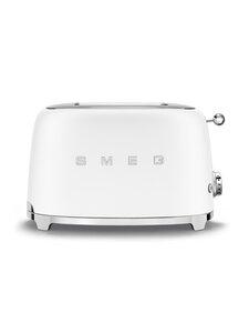 Smeg - TSF01WHMEU-leivänpaahdin, 2 viipaleelle - MATT WHITE | Stockmann