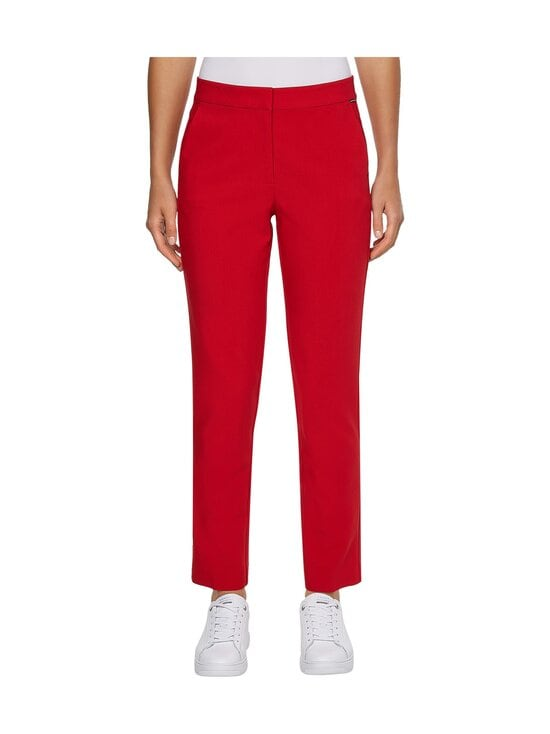 Tommy Hilfiger - CORE SUITING SLIM PANT -housut - XLG PRIMARY RED   Stockmann - photo 3