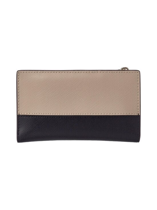 kate spade new york - Spencer Small Slim Bifold Wallet -nahkalompakko - WARM BEIGE/BLACK | Stockmann - photo 2
