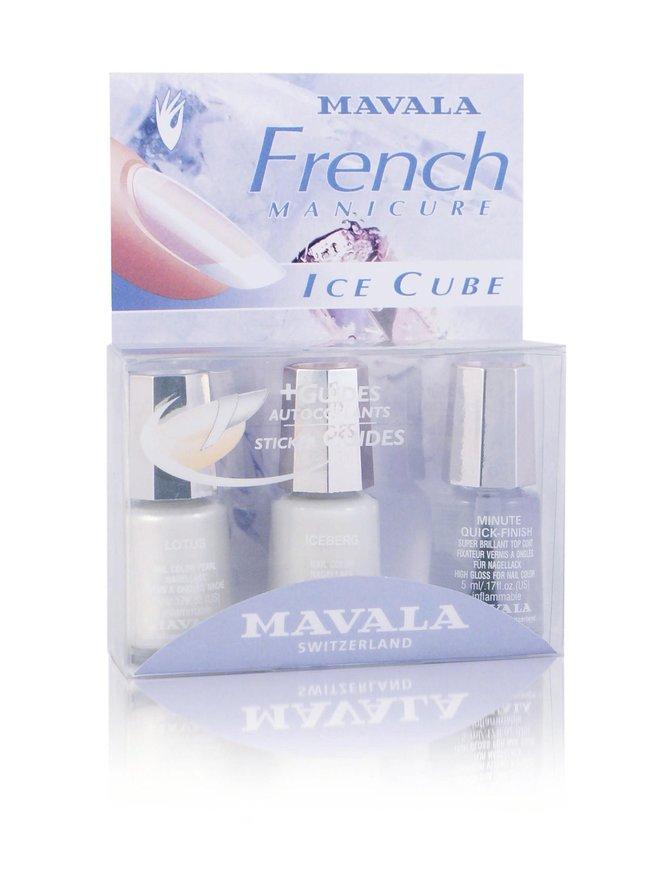 French Manicure Ice Cube -tuotepakkaus