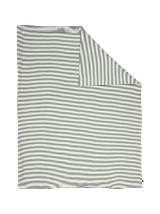 Casa Stockmann - Lasten pussilakana 120 x 160 cm - OIL GREEN/ WHITE   Stockmann - photo 1