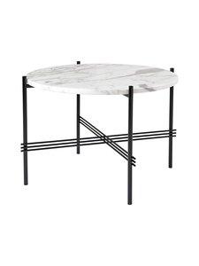 Gubi - TS Coffee Table -sohvapöytä ⌀ 55 cm - WHITE CARRARA MARBLE | Stockmann