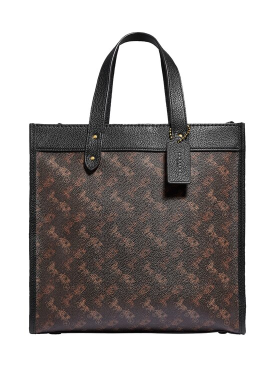 Coach - Field Tote With Horse And Carriage Print -laukku - B4SI1 B4/TRUFFLE BLACK | Stockmann - photo 1