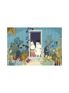 Moomin - Riviera Doorstep -tabletti 40 x 30 cm - MULTICOLOURED | Stockmann