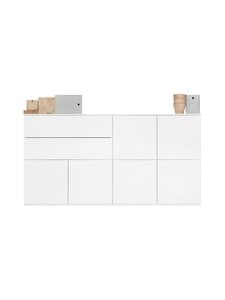 Lundia - Fuuga-senkki 48 x 100 x 192 cm - WHITE PAINTED MDF   Stockmann