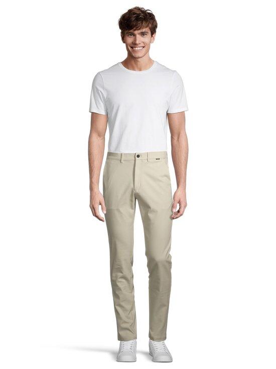 Calvin Klein Menswear - Tech Stretch Slim Fit Chino -housut - AEV BLEACHED STONE   Stockmann - photo 2