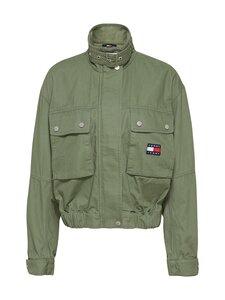 Tommy Jeans - TJW Crop Utility Jacket -takki - L0P DESERT OLIVE | Stockmann