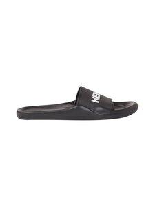 Kenzo - Beach Slide Kenzo Logo -sandaalit - 99 - KENZO LOGO PVC - BLACK | Stockmann