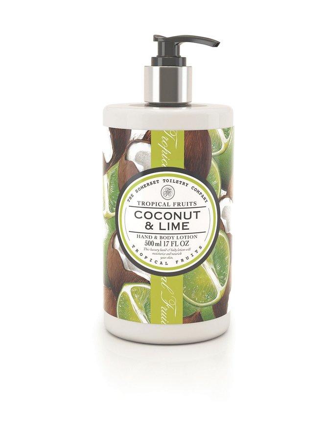 Coconut & Lime Body Lotion -vartalovoide 500 ml