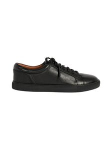 Ted Baker London - Udamo Leather Sneaker -nahkasneakerit - 00 BLACK | Stockmann