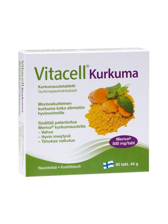 Hankintatukku - Vitacell-kurkumauutetabletit 40 tabl./44 g | Stockmann - photo 1