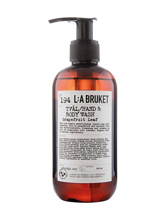 L:A Bruket - Hand & Body Wash Grapefruit Leaf -saippua 450 ml - NOCOL | Stockmann - photo 1