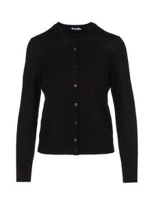 Filippa K - Merino Short Cardigan -villaneuletakki - 1433 BLACK | Stockmann