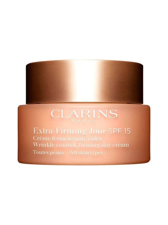 Clarins - Extra-Firming Jour Wrinkle Control Firming Day Cream SPF 15 for All Skin Types -päivävoide 50 ml - NOCOL | Stockmann - photo 1