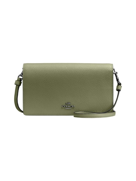 Coach - Hayden Foldover Crossbody Clutch -nahkalaukku - V5/LIGHT FERN | Stockmann - photo 1