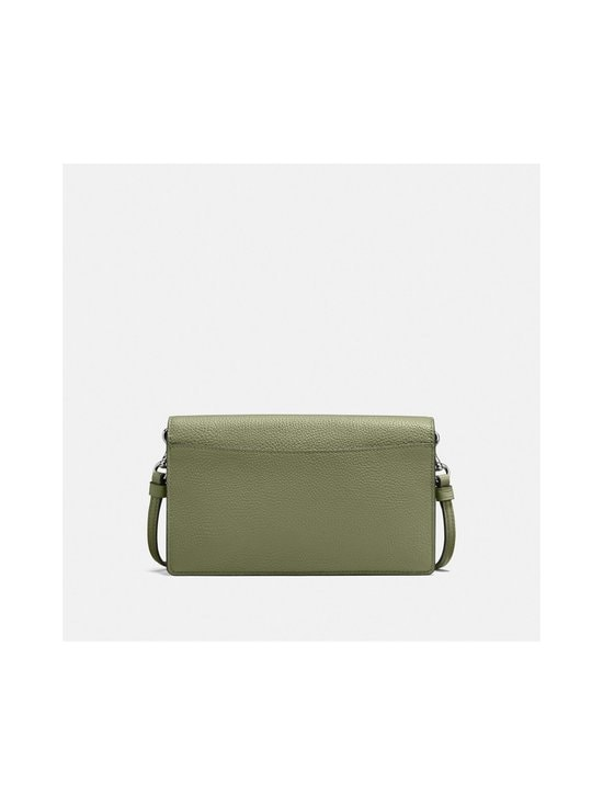 Coach - Hayden Foldover Crossbody Clutch -nahkalaukku - V5/LIGHT FERN | Stockmann - photo 3