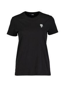 Karl Lagerfeld - Karl Patch T-shirt -paita - BLACK   Stockmann
