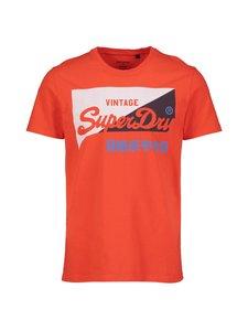 Superdry - Vintage Logo Primary T-Shirt -paita - 7SQ BAJA ORANGE | Stockmann