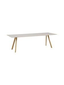 HAY - Copenhague CPH30 -pöytä 250 x 90 cm - SILID OAK/LINOLEUM (TAMMI) | Stockmann