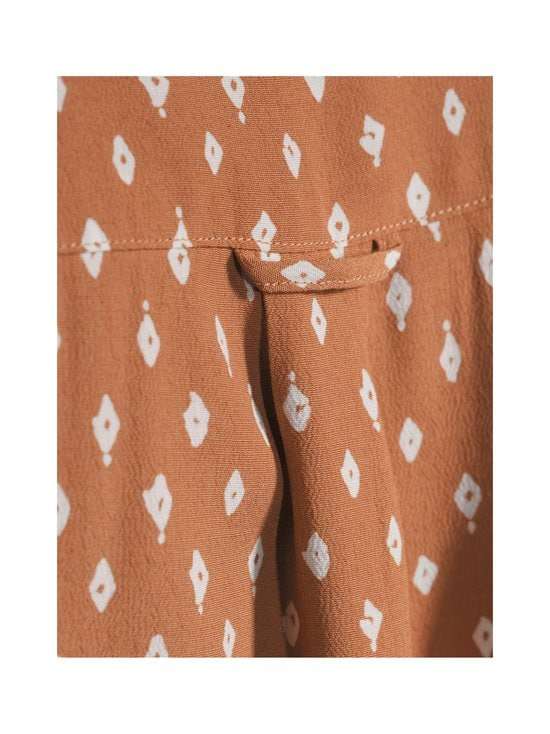 Desert Jewel Print Shirt Dress -paitamekko