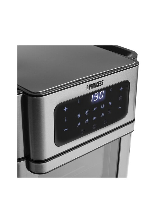 Princess - Digital Aerofryer Oven -kiertoilmakypsennin - BLACK/STEEL | Stockmann - photo 9
