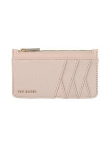 Ted Baker London - Gerii Diagonal Zipped CC Holder -korttikotelo - 58 LT-PINK | Stockmann