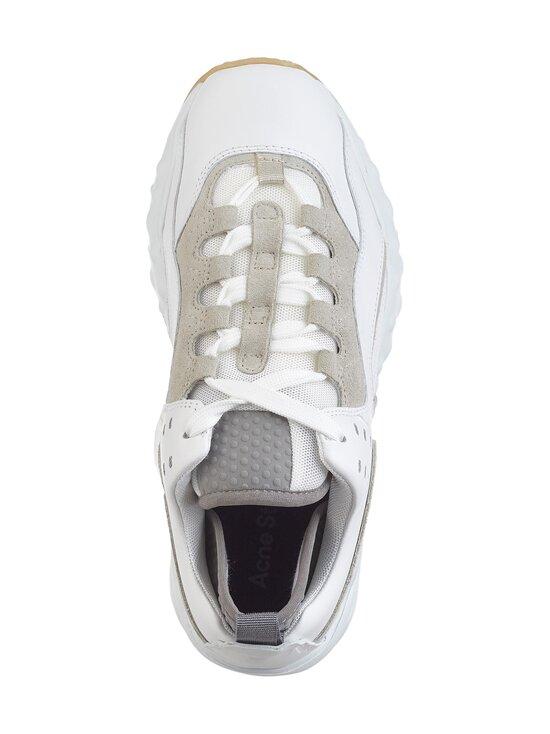 Acne Studios - Manhattan Nappa -nahkasneakerit - ANC WHITE/WHITE | Stockmann - photo 2