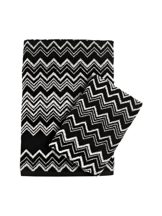 Missoni Home - Keith-pyyhe 70 x 115 cm - BLACK/WHITE | Stockmann - photo 1