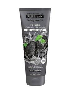 Freeman - Polishing Charcoal + Black Sugar Gel Mask + Scrub -kasvonaamio 150 ml - null | Stockmann