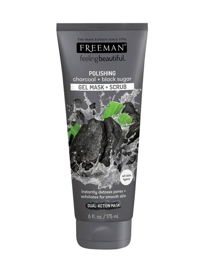 Polishing Charcoal + Black Sugar Gel Mask + Scrub -kasvonaamio 150 ml