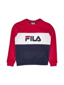 Fila - Leni-collegepaita - G06 BLACK IRIS - TRUE RED - BRIGHT WHITE | Stockmann