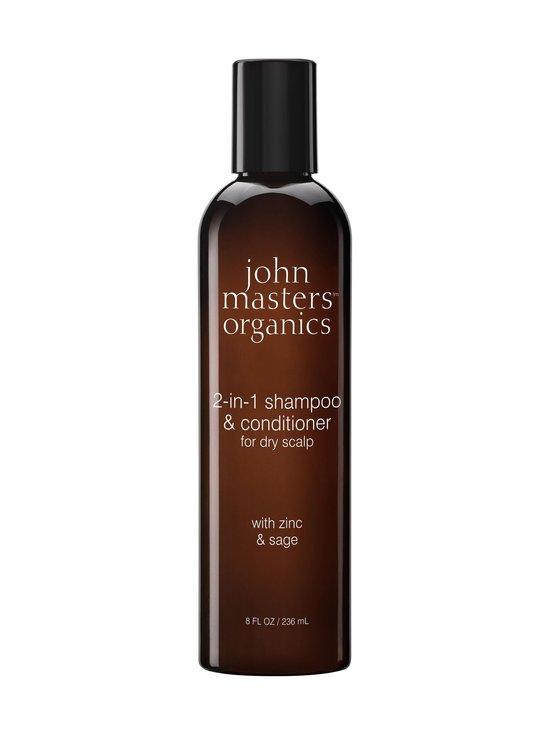 John Masters Organics - Zinc & Sage 2 in 1 Shampoo 236 ml | Stockmann - photo 1