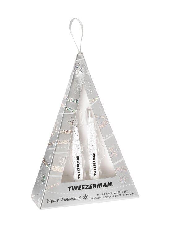 Tweezerman - Winter Wonderland Micro Mini Tweezer Set -pinsettipakkaus - WHITE | Stockmann - photo 1