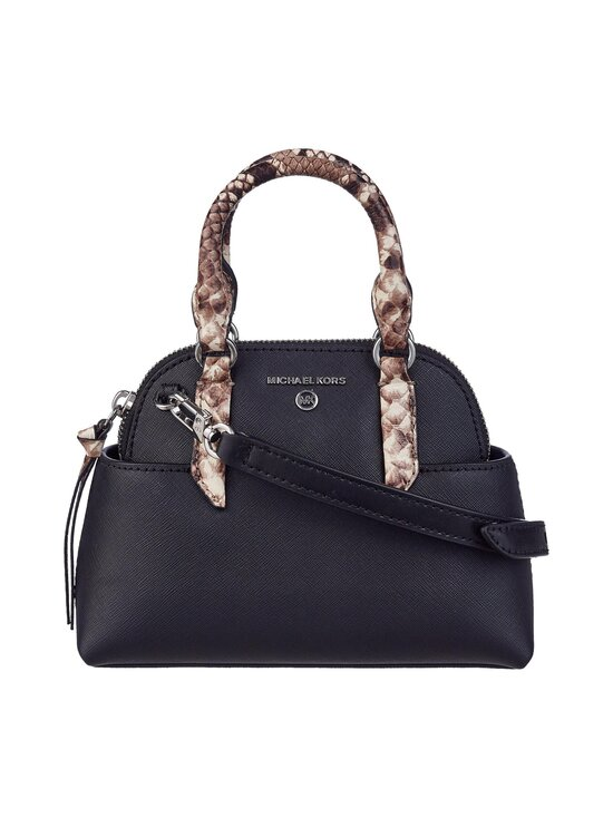 Michael Michael Kors - Hudson Satchel -nahkalaukku - 001 BLACK | Stockmann - photo 1