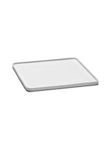 Serax - Heii Plate Square -lautanen 24 x 24 cm - WHITE | Stockmann