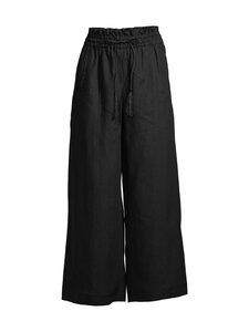Marella - FASE-pellavahousut - 001 BLACK | Stockmann