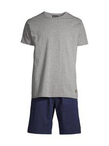 Lyle & Scott - Charlie Short -pyjama - 9003 PEACOAT   Stockmann