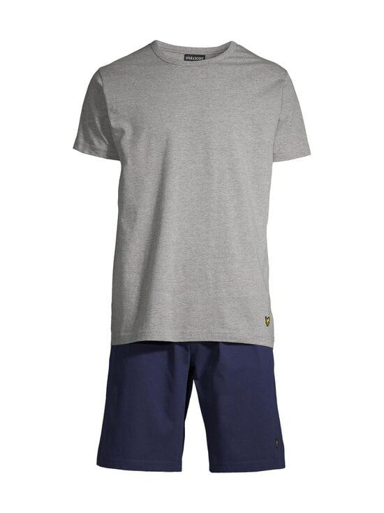 Lyle & Scott - Charlie Short -pyjama - 9003 PEACOAT | Stockmann - photo 1