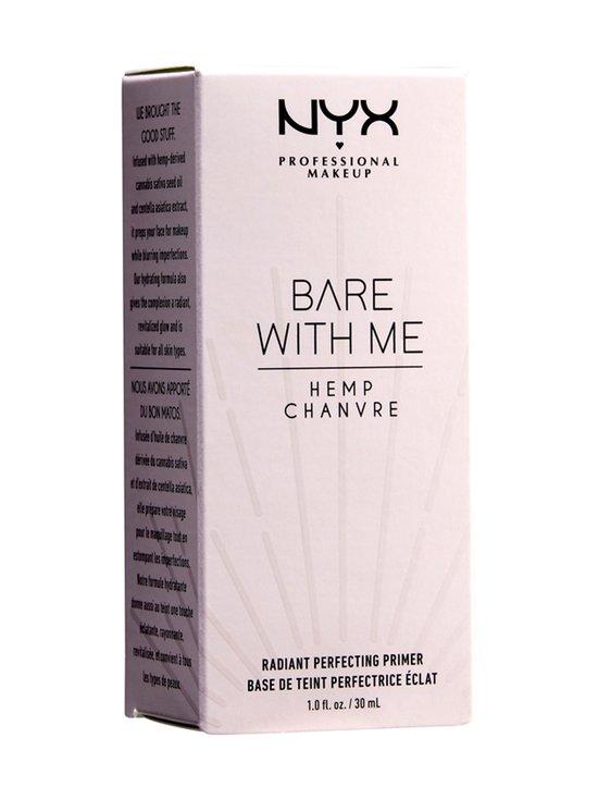 NYX Professional Makeup - Bare With Me Hemp Radiant Perfecting Primer -pohjustusvoide 30 ml - 01 | Stockmann - photo 1