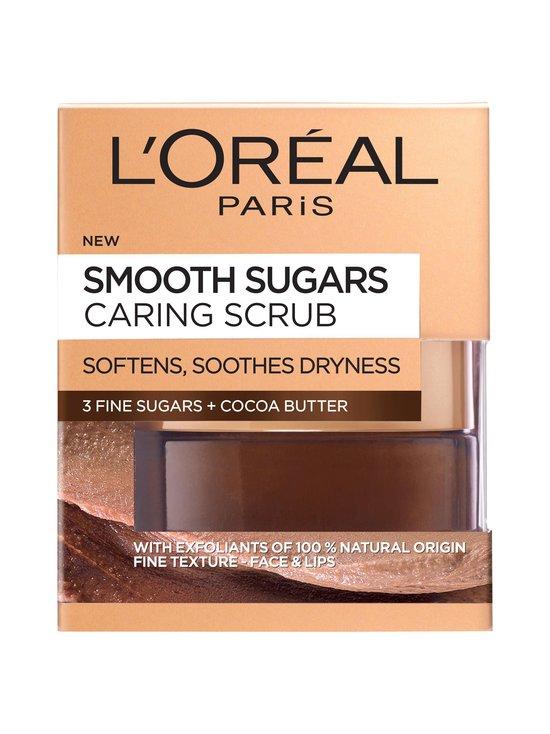 L'Oréal Paris - Smooth Sugars Caring Scrub -sokerikuorinta 50 ml - RUSKEA | Stockmann - photo 1