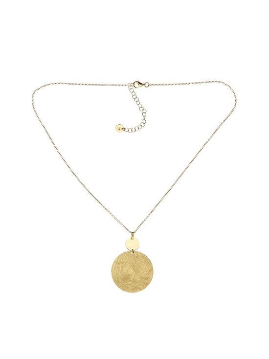Dfj Collections - Flat Round Pendant -kaulakoru - GOLD | Stockmann - photo 1