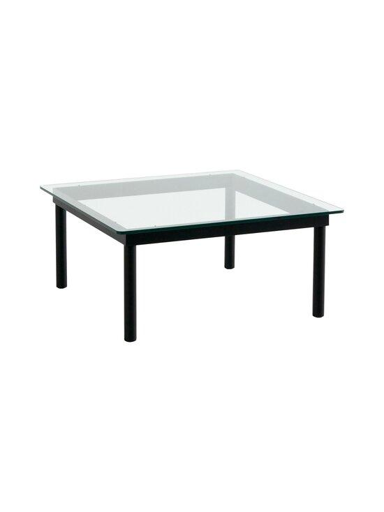 HAY - Kofi-pöytä 80 x 80 cm - BLACK / CLEAR GLASS   Stockmann - photo 1