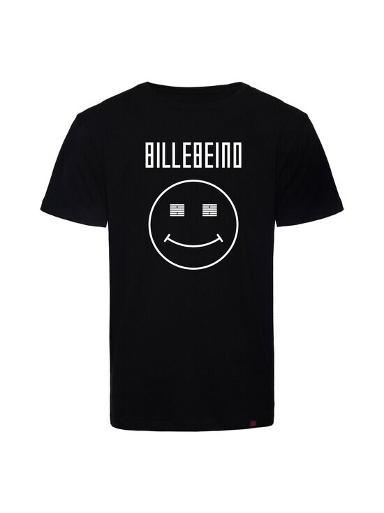BILLEBEINO - Smiley T-shirt -paita - 99 BLACK | Stockmann - photo 1