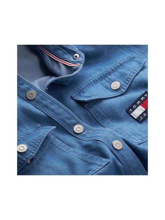 Tommy Jeans - TJW CHAMBRAY SHIRT DRESS LS -mekko - 1A7 MID INDIGO | Stockmann - photo 3