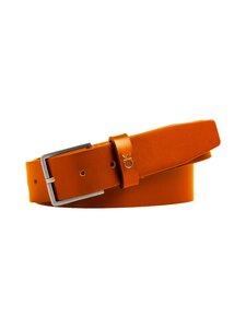 Calvin Klein Bags & Accessories - Formal Belt -nahkavyö - 223 COGNAC | Stockmann