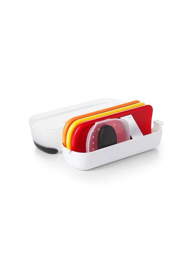 Mini Grate and Slice Set -raastin- ja leikkurisetti