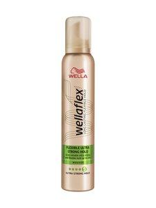 Wella - Wellaflex Flexible Ultra Strong Hold Mousse -muotovaahto 200 ml | Stockmann
