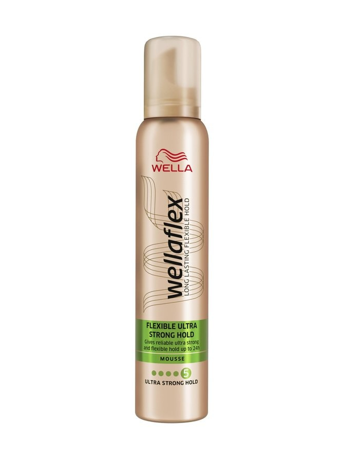 Wellaflex Flexible Ultra Strong Hold Mousse -muotovaahto 200 ml