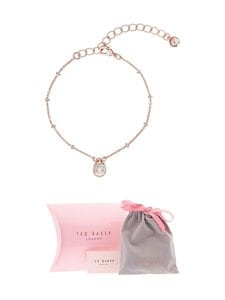 Ted Baker London - Pasinni Mini Pave Padlock Charm -rannekoru - ROSE GOLD/CRYSTAL | Stockmann